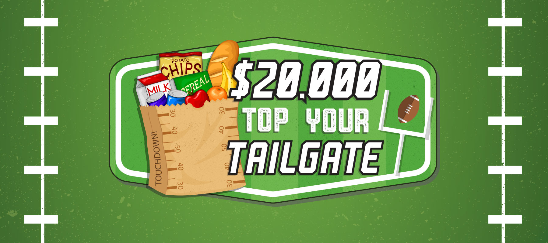 $20,000 Top Your Tailgate