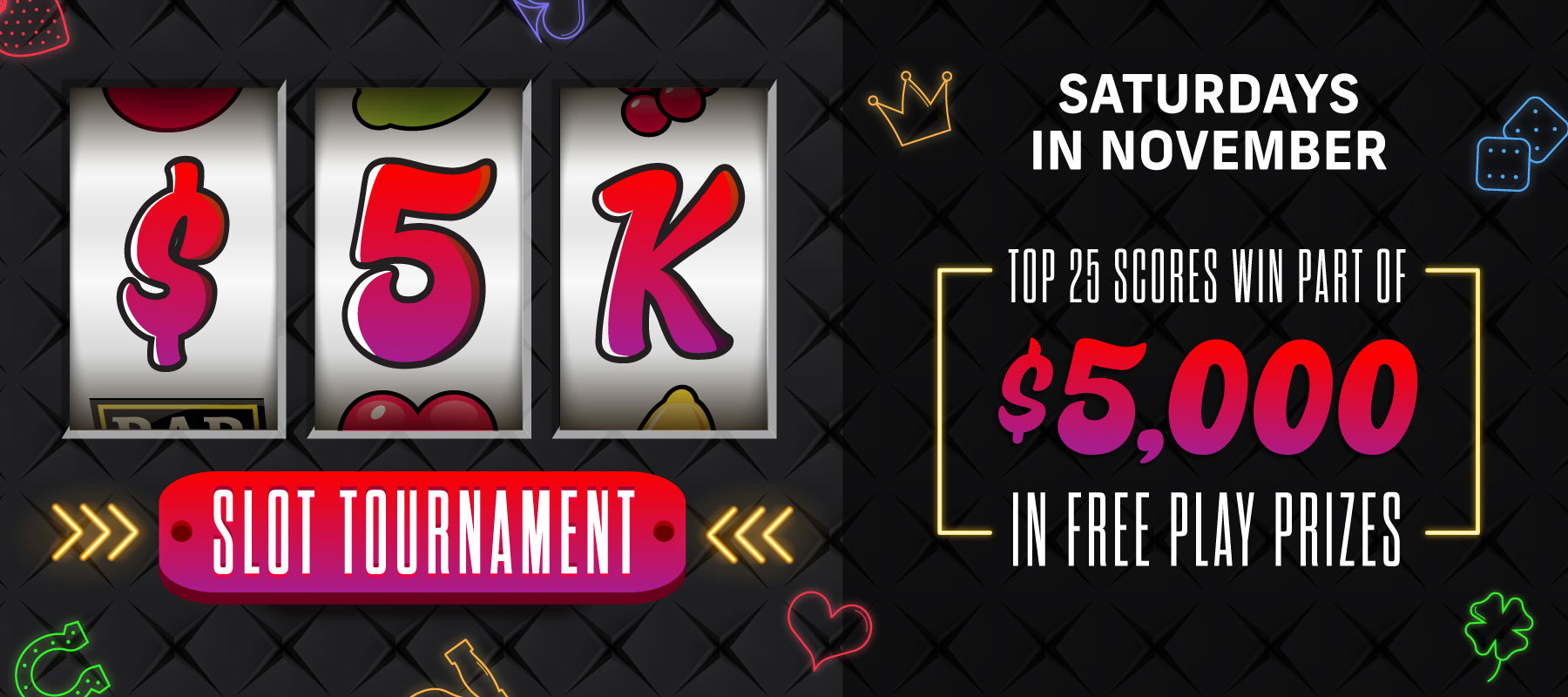 $5K Slot Tournament