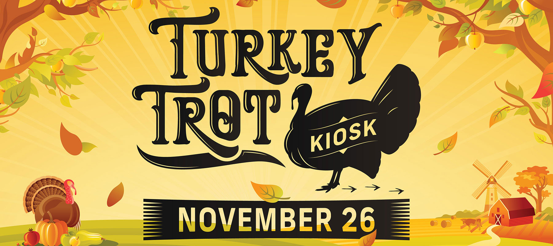 Turkey Trot Kiosk