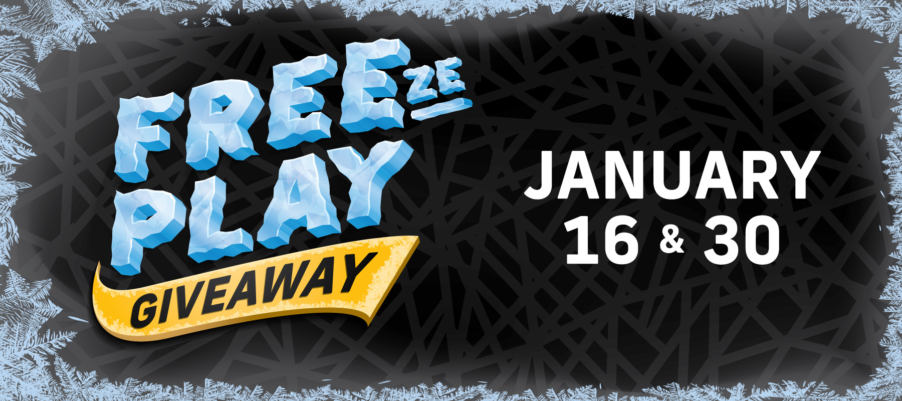 Freeze Play Giveaway