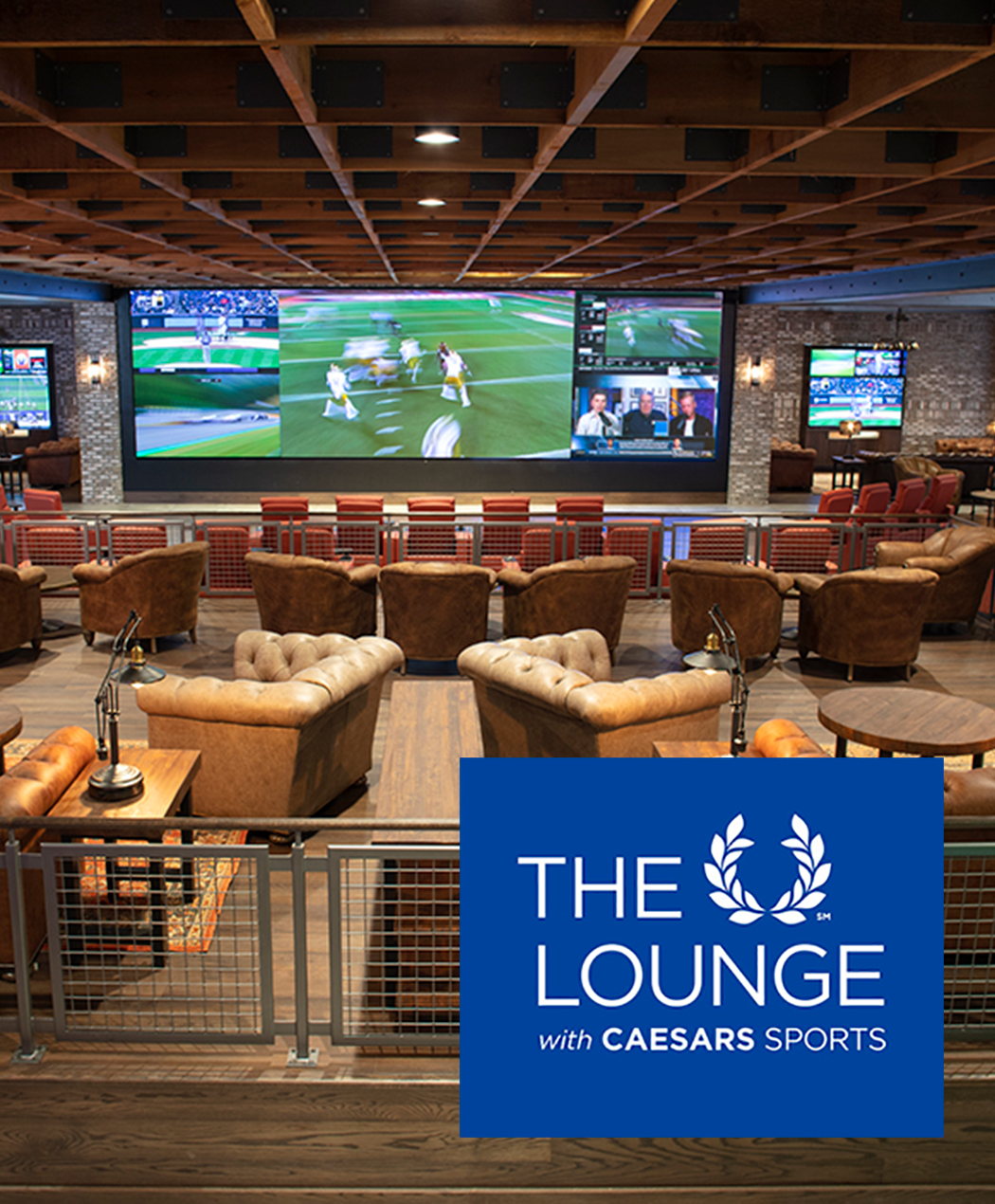 The Lounge with Caesars Sports